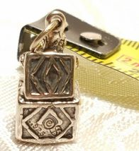 Sterling Silver 3-D Jack In The Box Charm image 4