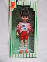 Vintage Vogue Ginny Doll Brunette Red Outfit Box 1978 - $12.86