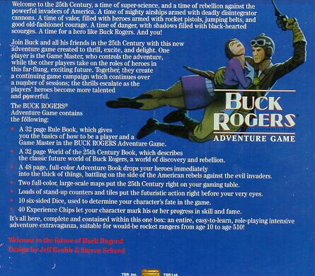 Buck Rogers Adventure Exitement  25 Century  Game rare
