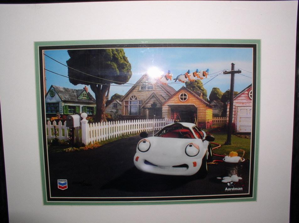 CHEVERON CAR Coke Animation Art LIMITED EDTION