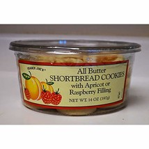 Trader Joe's All Butter Shortbread Cookies with Apricot or Raspberry Fil... - $19.08
