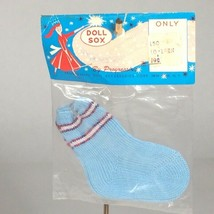 "vintage blue boy baby doll socks for 10""-12"" doll NOS made in Japan - $23.54"