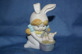 Sarah Look a Like in Bunny Costume with Basket - $3.99