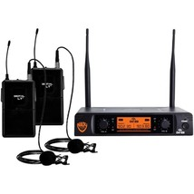 Nady(R) DW-22-LT-ANY Dual-Transmitter Digital Wireless Microphone System... - $176.98
