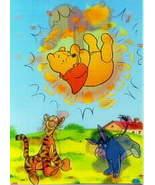 Diseny Tigger Eeyore & Winnie 3d Lenticular Print - $12.46