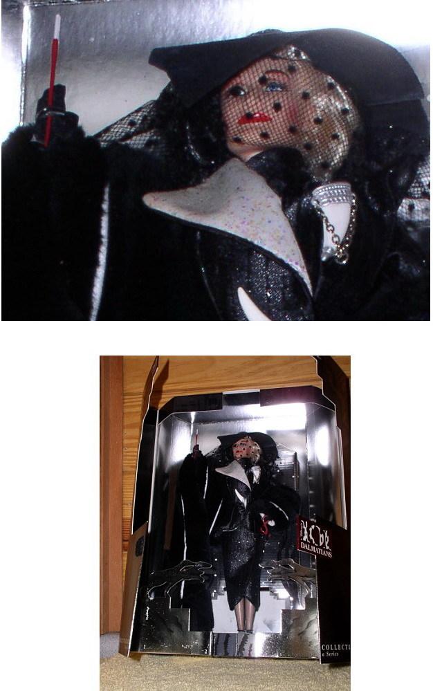 Disney 101 Dalmatians Cruella De Vil Glen Cose Doll