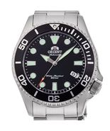 Orient RA-AC0K01B Orient automatic divers men's watch black dial sapphir... - $269.00