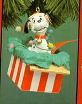 Disney 101 Dalmatians puppy dog Ornament Surprise - $29.02