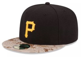 Pittsburgh Pirates New Era 59Fifty Black Memorial Day Camo 7 1/8 Fitted ... - ₹1,881.54 INR