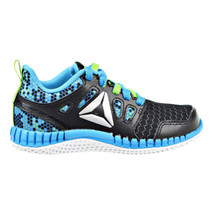 Reebok Zprint 3D MTL Preschool Shoes Black-Green-Blue-Silver AR2888 - $39.95