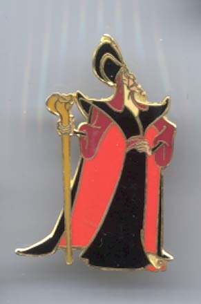 Disney Aladdin Jafar retired WDW Pin/Pins