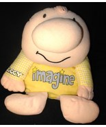 Ziggy Imagine Soft Doll Yellow Gingham Shirt Bo... - $12.97