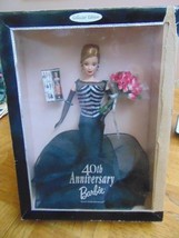 Dolls 40TH Anniversary Barbie-Blonde-Miniature OfHer From 1959-Same Box-40 Roses - $20.00