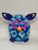 Hasbro Furby Boom Blue Teal Turquoise Waves Interactive 2012 tested work... - $18.69