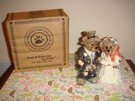 Boyds Bears Grenville & Beatrice True Love Salt Pepper Shakers - $19.49