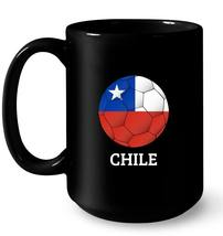 Chile Flag Soccer Ball Futbol Football Novelty Gift Gift Coffee Mug - $13.99+
