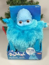 boohbah silly sounds jumbah toddler interactive toy blue boobah - $75.71