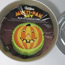 Vintage Wilton Jack-O- Lantern Pumpkin Cake Pan With Ring 1974 # 503-598 - $22.24