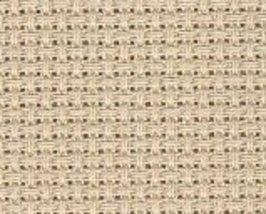 Beige 14ct Aida 15x18 Charles Craft Classic Reserve cross stitch fabric - $5.00