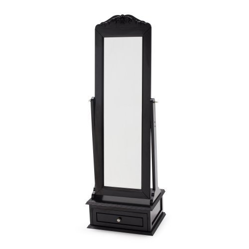 Full length mirror home bedroom bathroom free standing for Long floor mirror