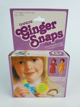 "Vintage 1981 Bandai Ginger Snaps #13 snap-together doll 3"" New in Purple Box - $23.36"