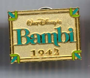 Disney Bambi Cast member never sold pin/pins