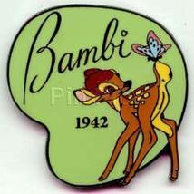 Disney Bambi and butterfly dated 1942 Pin/Pins - $14.35