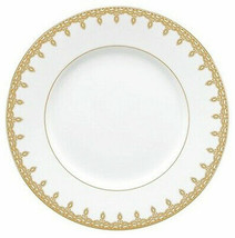 "Waterford Lismore Lace Gold Accent Salad 9"" Plate Bone China New - $59.90"