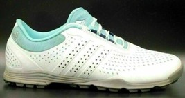Adidas 791003 Women Running Shoes Size US 7.5 White Light Blue - $12.95