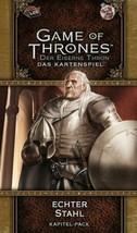 Fantasy Flight Games ffgd2352 Got : LCG 2. Ed. – Véritable Acier  - $30.63