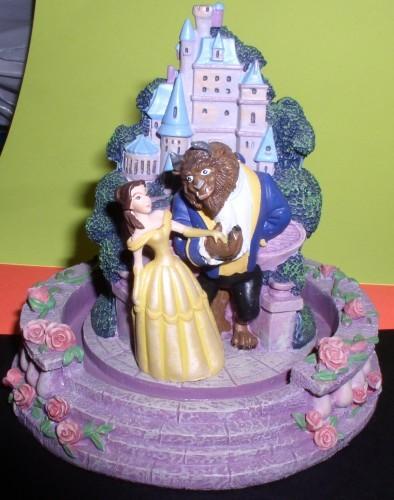 Disney Beauty & the Beast with Father Figurine