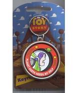 Disney Buzz Lightyear Toy Story 1  Key Chain - $15.47