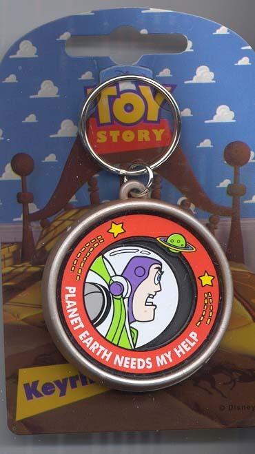 Disney Buzz Lightyear Toy Story 1  Key Chain