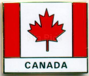 Disney Canada World Showcase Cast Member flag Pin/Pins