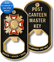 Veteran of Foreign Wars VFW Post Canteen Master Key VFW Bottle Opening D... - $14.99