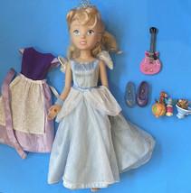 Vtg 2002 Playmates Disney My Interactive Princess Talking Cinderella dol... - $29.69