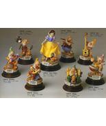 Disney Capodimonte Laurenz Snow White 8 Figures - $2,554.00