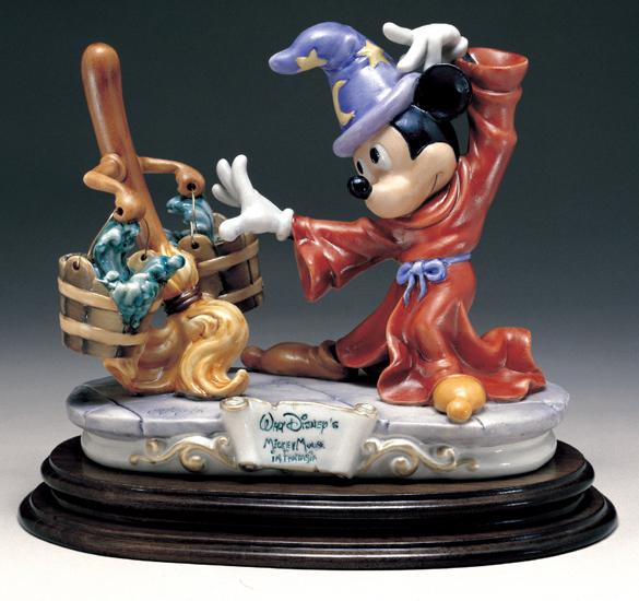 Disney Capodimonte Mickey Fantasia Figurine