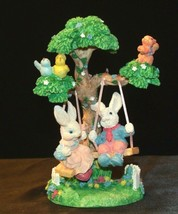 Springtime Swingtime Figurine #280830 AA-191594 Vintage Collectible - $39.95
