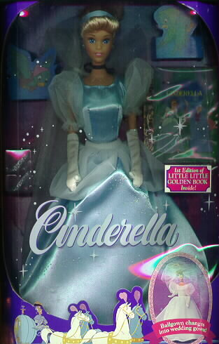 Disney Cinderella Ball Dress & Wedding gown Rare Doll