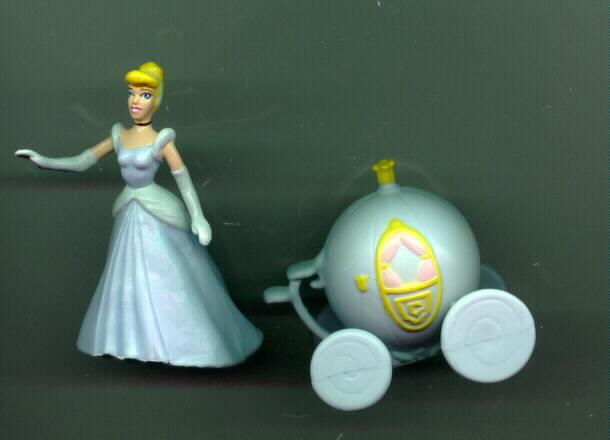 Disney Cinderella & Coach Figurine cake topper