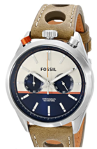 Fossil Men's CH2973 Del Rey Analog Display Analog Quartz Brown Watch - $194.95