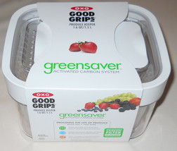 OXO Good Grips GreenSaver Produce Keeper 1.6 Quart White Storage Contain... - $25.00