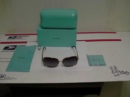 Authentique Tiffany & Co Tf 3026B (6048/4I) Soleil 59/14 Violet Verres - $178.15