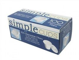 Disposable Filters for Use in Keurig Brewers, Simple Cups, 100 Replaceme... - £12.80 GBP