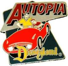 Disney DL 1998   Autopia Tomorrowland ride pin/pins - $24.99