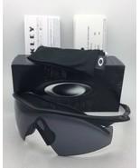 New OAKLEY BALLISTIC M-FRAME Safety glasses 11-162 Black w/ Grey ANSI Z8... - $132.95