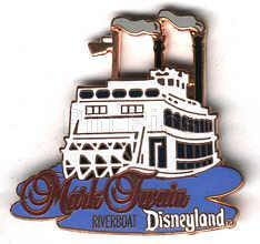 Disney DL- 1998 Mark Twain Riverboat ride Pin/Pins