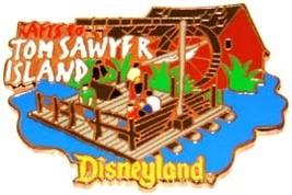 Disney DL - 1998 Tom Sawyer Island Rafts ride pin/pins - $55.49