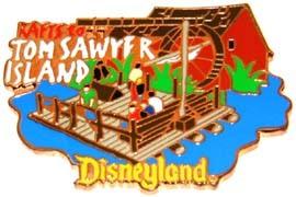 Disney DL - 1998 Tom Sawyer Island Rafts ride pin/pins